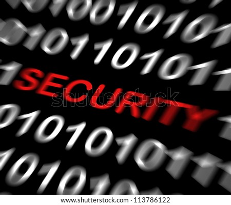 Security concept - stock photo