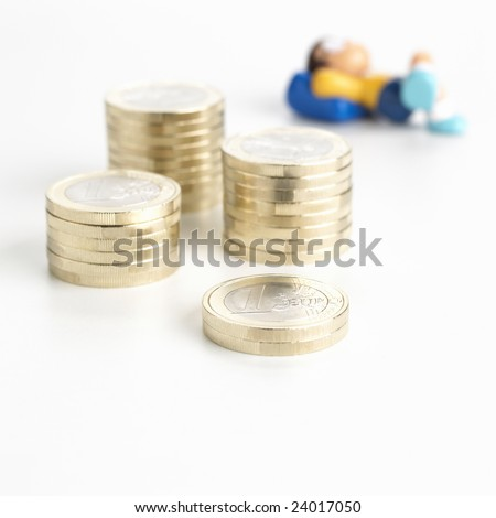 Security finance...you can sleep very calm !!! - stock photo