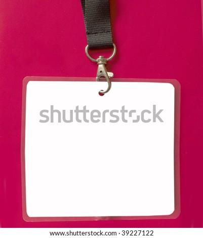 security id pass - stock photo