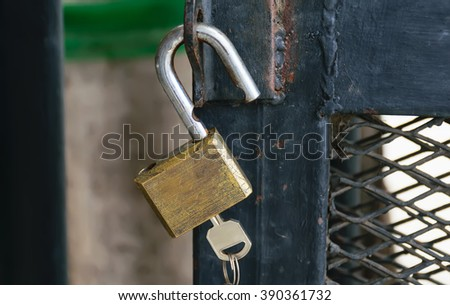 security locks,security concept,Cabinets for security guards,Security - stock photo