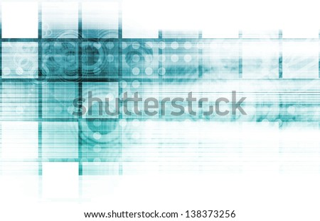 Security Network Data Monitor as a Concept - stock photo