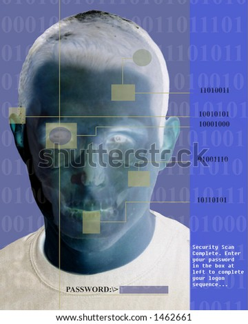 Security Scan of a Face
