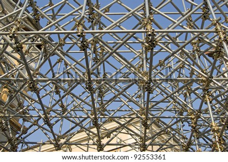 security structure scaffolding