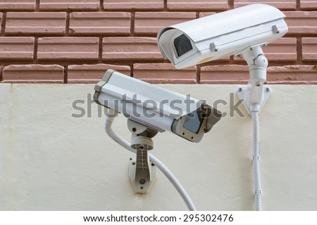 Security Video Camera CCTV ,record monitor in city town