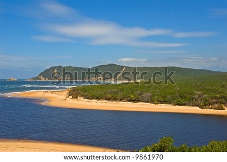 Sedgefield River Mouth lies in the heart of the Garden Route in South Africa