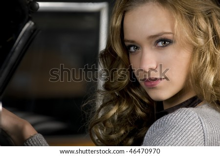 seduction - stock photo
