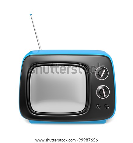 See more TV in my gallery - stock photo