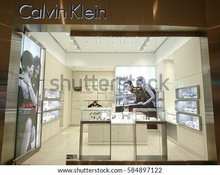 SELANGOR, MALAYSIA- 22 FEBRUARY 2017: Calvin Klein store in IOI City Mall,  Putrajaya ,  Malaysia
