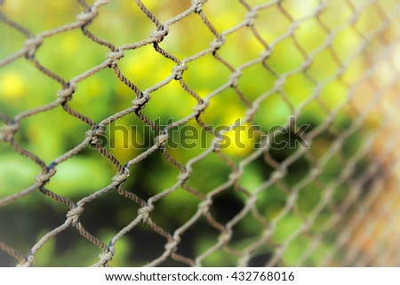 Select focus,Blur pattern net and abstract natural background.