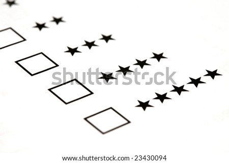 select star level - stock photo