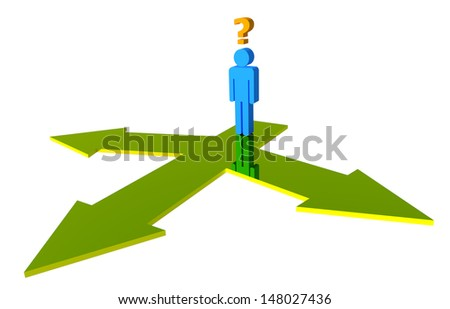 Select Your Ways for your Business. - stock photo