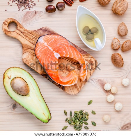 Fatty foods stock images royalty free images vectors for Fish oils are a good dietary source of