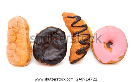 Selection of Doughnuts  - stock photo