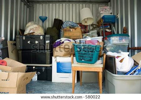 Self-Storage - stock photo