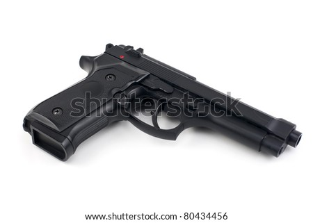 semi automatic handgun