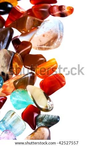 Semi-precious gems - stock photo