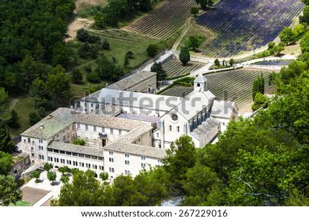 Senanque abbey, Provence, France - stock photo
