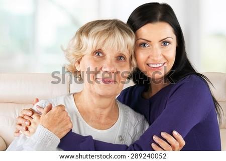 Senior Adult, Family, People. - stock photo