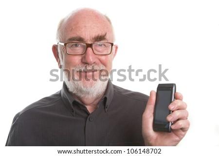 Senior man - stock photo