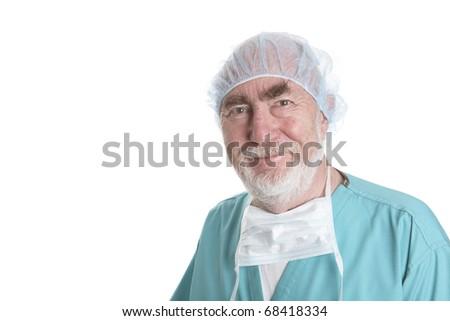 Senior Surgeon - stock photo