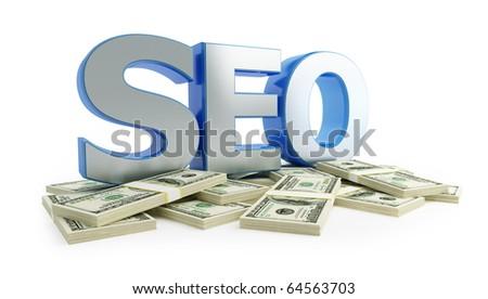 "SEO dollar""search engine optimization"" - stock photo"