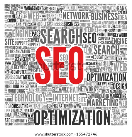 SEO | Search Engine Optimization - stock photo