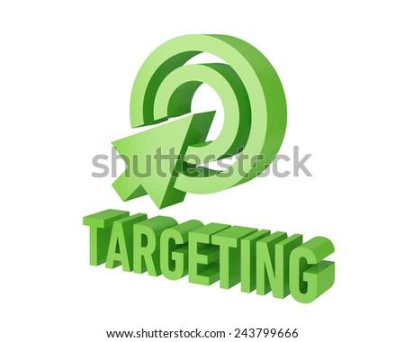 seo targeting - stock photo