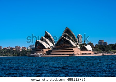 Sep 24,09,2016 Sydney Opera House Australia is famous arts center. It was designed by Danish architect Jorn Utzon, the building was formally opened on 20 October 1973.