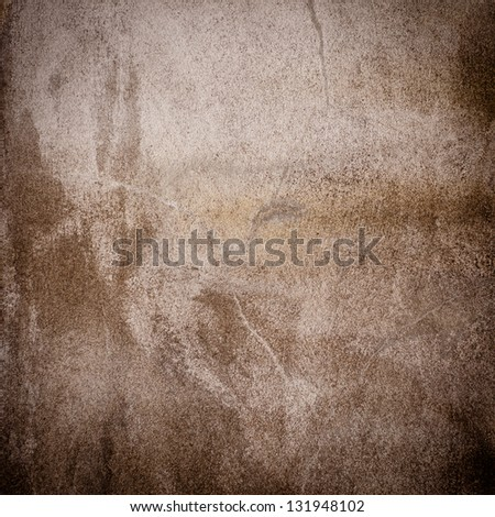 Sepia  grunge background wall dirty texture