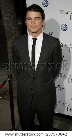 """September 6, 2006. Josh Hartnett attends the Los Angeles Premiere of """"The Black Dahlia"""" held at the Academy of Motion Picture Arts and Sciences in Beverly Hills, California.  - stock photo"""