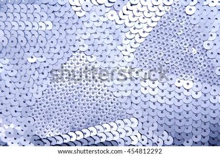Sequins background - stock photo