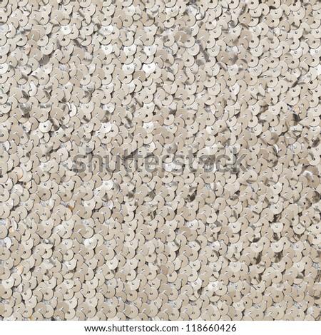 sequins texture - stock photo