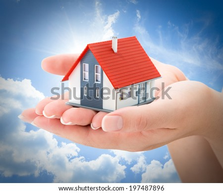 serenity real estate concept  - stock photo