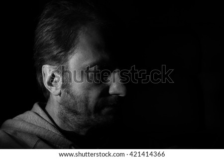 serius man portrait