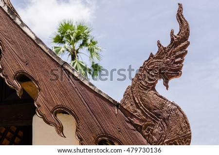 Serpent Wooden, Art In North Thailand