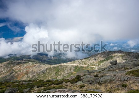 "Serra da Estrela (""Star Mountain Range"") is the highest mountain range in Continental Portugal"