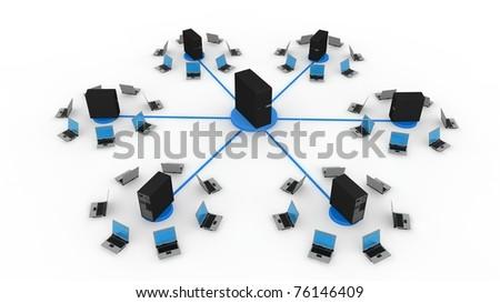 Server concept - stock photo