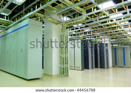 servers and communication data center see more in my portfolio - stock photo