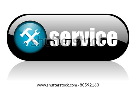service icon - stock photo