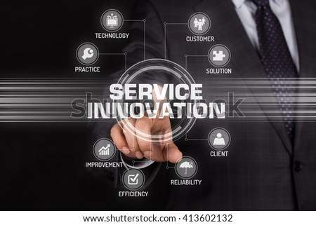 SERVICE INNOVATION TECHNOLOGY COMMUNICATION TOUCHSCREEN FUTURISTIC CONCEPT