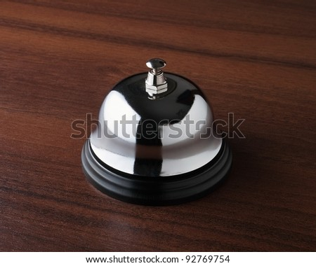 Service ring on the table
