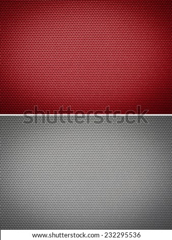 Set fabric texture background - stock photo