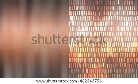 Set of abstract backgrounds orange