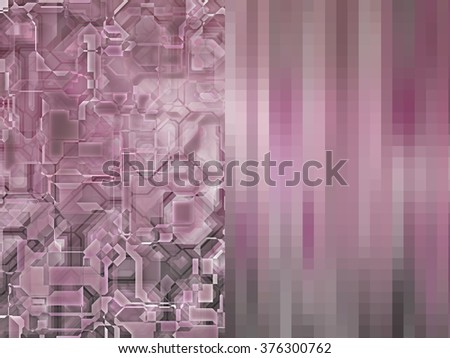 Set of abstract backgrounds pink