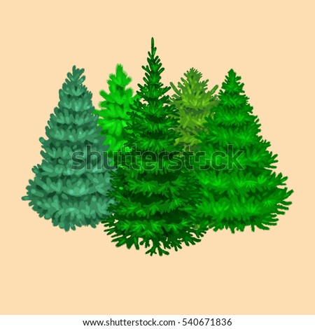 christmas tree without ornaments stock photos royalty