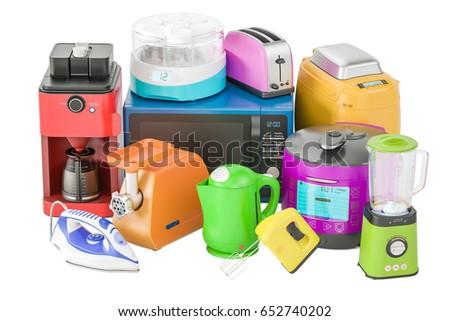 Kitchen Appliances Stock Images RoyaltyFree Images Vectors