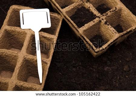 Set of garden tool - stock photo