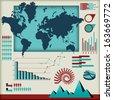 Set of infographics elements  - stock photo