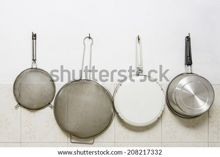 set of kitchen tools  - stock photo