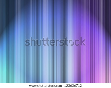 Set of many color vertical lines - stock photo